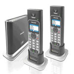 Download Manual and Driver Disc, Call worldwide for free - Philips VoIP-433 Skype DECT Cordless Dual Phone NEW, Exellent Value