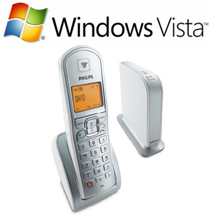 Download Vista Setup & Manuals Philips VoIP-321 Skype DECT Call for free - Cordless Dual pack Phone