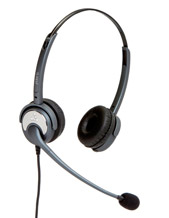 "Noise Cancelling ,Dual Ear Silvertongue Telephone Headset - Soundpro 20 for Call Centre, and business applications ""5 Year Warranty"" These are NOISE CANCELLING Headsets for Call Centre Offices"