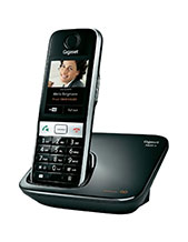 Gigaset S820A Touchscreen Phone with Answering Machine