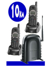 "2 PACK EnGenius DURAFON SN902 Long Range Phone 1 x PSTN Line,  ""Long Distance reception up to 10 KM Long Range"" Ideal for Farming, Mining, Industrial"