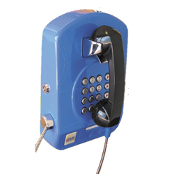 Steel Case Analog Telephone