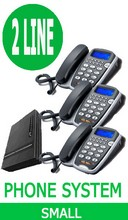 SMALL BUSINESS PHONE SYSTEM, 2 Lines up to 6 Handsets