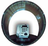 Payphone Booth Mark 1 - Waterproof Telephone Dome only, Teledome for Coin Payphone