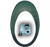 Payphone Booth Mark 4 - Waterproof Telephone Dome only, Teledome for Coin Payphone