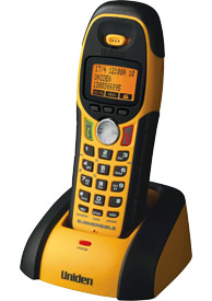 DSS 7805WP Additional Extra Waterproof handset Cordeless Phones, Uniden DSS 7960 + 1 is a 2 Line 5.8GHz Digital Spread Spectrum Cordless Phone