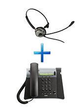 Analogue Business Phone with Headset