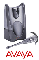 Avaya AWH-65 wireless headset system gives excellent sound quality and hands free freedom up to 100m from a desk connects to AVAYA Phone Handsets.