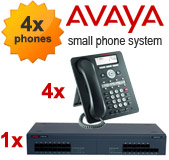 Avaya IP500 Phone System with 4 Handsets