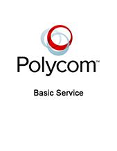 """1-year Basic Service (For Polycom RealPresence """"Eyeless"""" EduCart 500 Bundle)"""