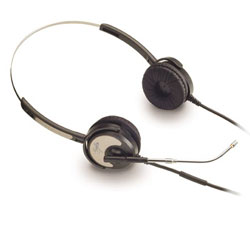 "Dual Ear Silvertongue Telephone Headset - Soundpro 20 for Call Centre and business applications ""5 Year Warranty"""