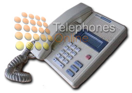 Commander NT 40 Economy Handset, Commander NT 132 Economy telephone 8 Button NT8B33AA-77 (Refurbished)