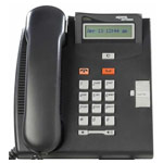Commander Nortel Telephone T7100 (BK) NT8B25AAABL - Colour Black (Refurbished)