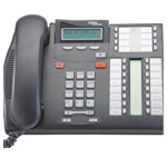 Commander Nortel Telephone T7316 (BK) NT8B27AABA - Colour Black (Refurbished)