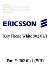 Ericsson Key Phone White 502 01/1 (Refurbished)