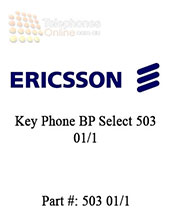 Ericsson Key Phone BP Select 503 01/1 (Refurbished)