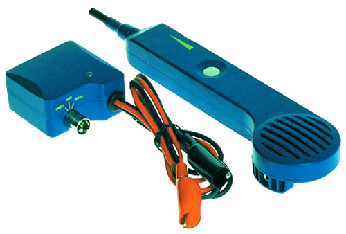 Telephone Technicians F-Set Tone Identifier Probe Kit, for cable tracing and identification of premises wiring.
