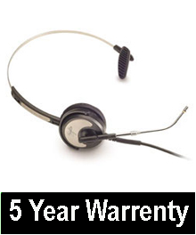 "Silvertongue Telephone Headset - SW10D Soundpro 10 for Call Centre and business applications ""5 Year Warranty"""
