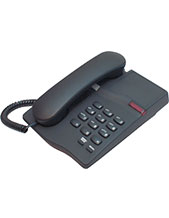 Interquartz Gemini IQ330B Analogue Black Business  Phone for Hotel