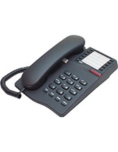 Interquartz Gemini IQ331B Analogue Black 10 memory Phone for Hotel