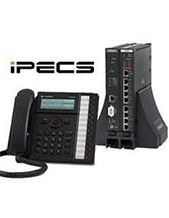 LG Ericsson iPECS LIK50B Phone System with 4 BRI ISDN Phone Lines & 6 IP Phones
