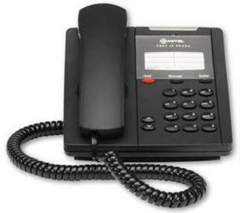 Mitel Networks 5201 IP Phone is a basic entry-level IP phone