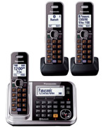 Panasonic KX-TG7893 Cordless Phone with Link-to-Cell TRIPLE KIT