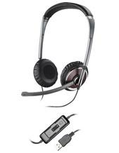 Plantronics Blackwire C420 OTH Foldable/Portable Stereo DSP-USB PC Headset (82632-01)