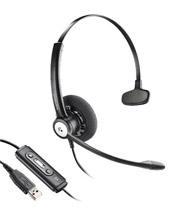 Plantronics Blackwire C610 Entera Wideband Monaural Noise Cancelling USB Headset (81964-41)