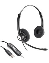 Plantronics Blackwire C620 Entera Wideband Binaural Noise Cancelling USB Headset (81965-41)