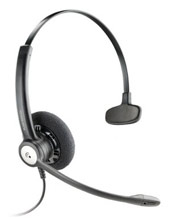 Plantronics Entera Wideband Monaural Noise Cancelling Headset (79180-02)