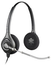 Plantronics SupraPlus Wideband Binaural VT Headset (64337-34)