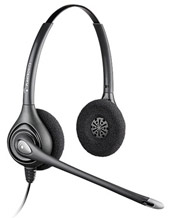 Plantronics SupraPlus Wideband Dual Ears Noise Canceling Headset (64339-34)