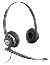 Plantronics EncorePro Wideband Binaural Noise Cancelling Headset (78714-01)