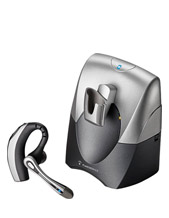 Plantronics Bluetooth Headset w/Desktop Adapter Base (72272-09)