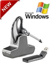 Plantronics Savi W430-M, OTE, USB Dongle, DECT, Microsoft Lync Certified (82397-02)