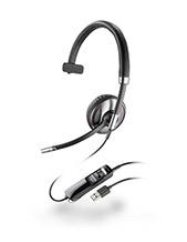 Plantronics Blackwire C710 Stereo Wideband USB Headset with WIRELESS Bluetooth Mobile QD (87505-02)