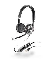 Plantronics Blackwire C720 Stereo Wideband USB Headset with WIRELESS Bluetooth Mobile QD (87506-02)