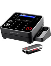 Plantronics Calisto P825 USB Speakerphone, 2in1 (PC & Mobile) with wireless mic (84260-02)