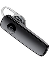 Plantronics M165 Black Bluetooth Headset (Black), A2DP, Multipoint, Voice-Answer (88120-09)