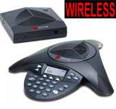 Polycom SoundStation 2W Wireless Conference Phone Upgradeable (Expandable) without Mics