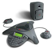 Polycom SoundStation VTX 1000 Conference Phone (EX Mics Included) VTX1000 Bundle with includes Subwoofer and VTX EX Mics