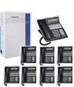 Samsung DCS70 Phone System 6 Lines 8 handsets