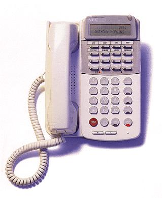 NEC phone D-Term 16DC  ETJ-16DC-1A (SW) Phone  Used Refurbished