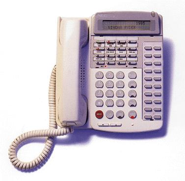NEC phone D-Term 16DD  ETJ-16DD-1A(SW) Telephone  Used Refurbished