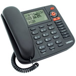 Uniden FP 1355 Corded Phone with Digital Answering Machine and Caller ID, analogue desk phone works even under power failure conditions