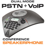 Uniden VP300 Conference Speakerphone Dual Mode (PSTN + VoIP)