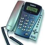 Uniden FP 203 Corded Phone with Caller ID, analogue desk phone with speakerphone
