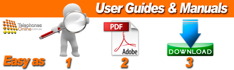 Telephone User Guides Manuals